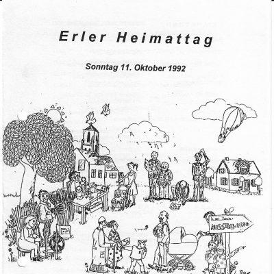 Erler_Heimattag_1992_Plakat