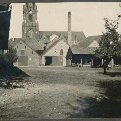 Dorfsicht von Böckenhoffs Hof 1941