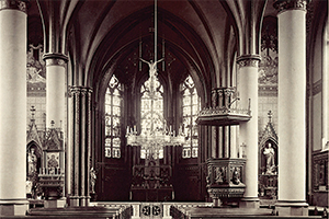 Kirchenschiff 1930